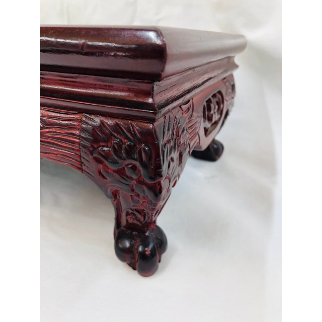 1980s Chinoiserie Style Plant Stand For Sale - Image 4 of 10