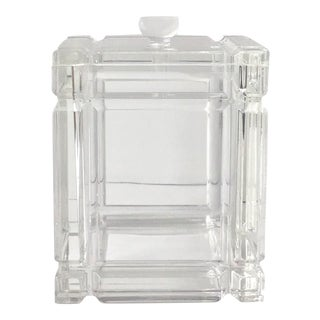 Lucite Ice Bucket For Sale