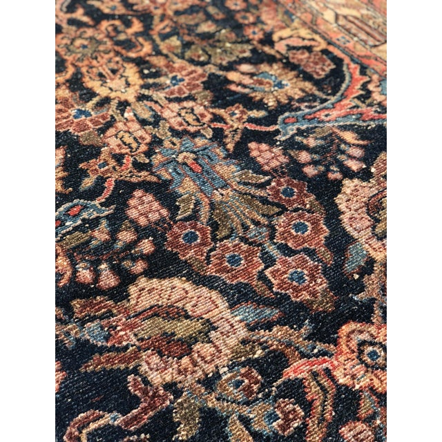 """1960s Persian Malayer Wool Runner - 3'5""""x19'4"""" For Sale - Image 10 of 13"""