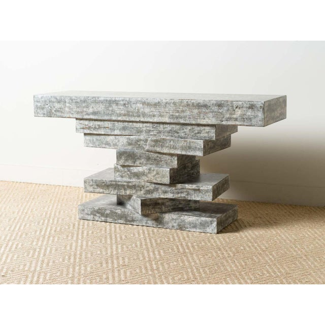 2010s Contemporary Holt Console Table For Sale - Image 5 of 5
