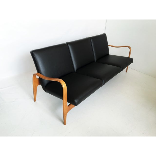 Pair of Modernist Thonet Bentwood Sofas For Sale - Image 9 of 13