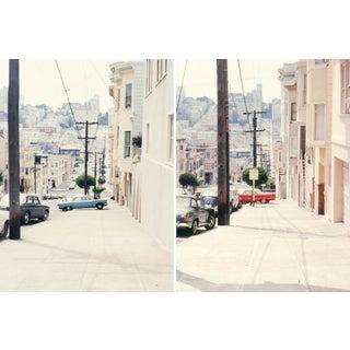 Vintage 1960s San Francisco Streets Film Photograph Prints - Set of 2 For Sale