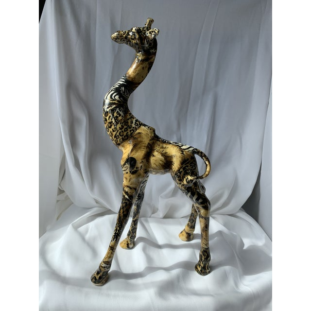 1980s Art Deco Giraffe For Sale - Image 5 of 6