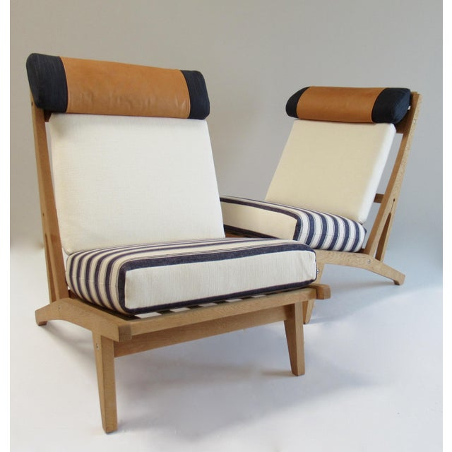 Vintage; Circa 1960's, Hans J. Wegner, Teak/Wood GETAMA Lounge Chairs, upon previous owners/Dealer, whom shipped these...