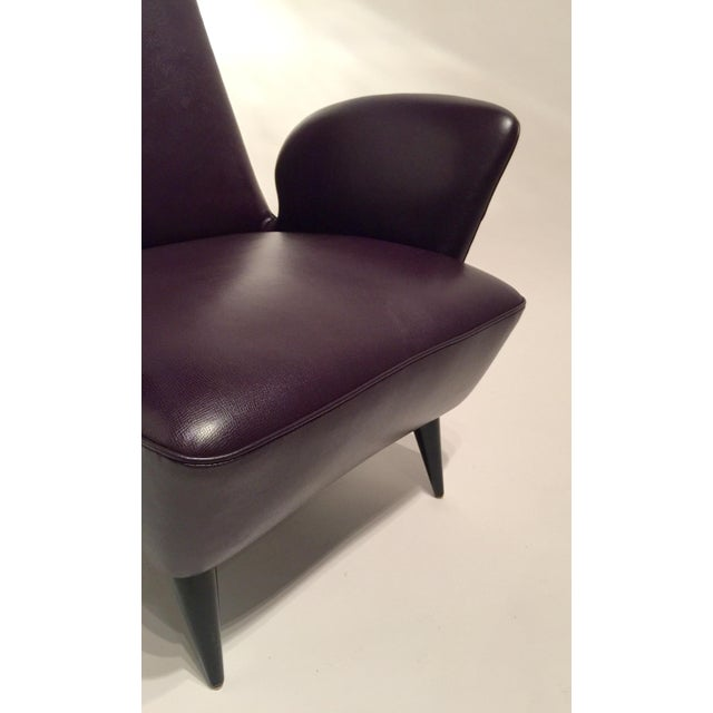 Italian Leather Armchairs - A Pair - Image 5 of 8