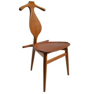 "Original and Rare Hans Wegner ""Valet"" Chair for Johannes Hansen, Denmark, 1953 For Sale"