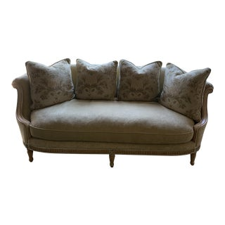 French Style Oversized Sofa For Sale