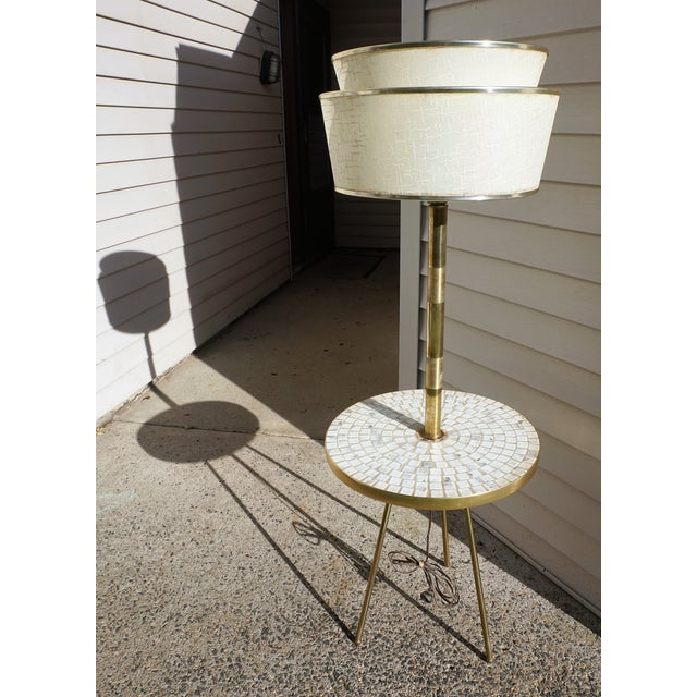 Italian Space Age Table Floor Lamp - Image 2 of 10