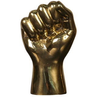 The Solidarity Fist, Brass For Sale