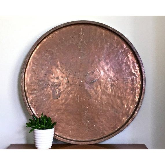 Vintage Rustic Copper Tray - Image 3 of 9