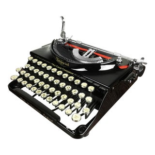 Refurbished 1930s Imperial 'The Good Companion' Portable Typewriter