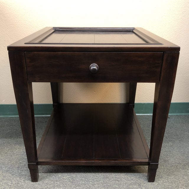 Vintage Patina Tray Table by Bernhardt Furniture Company For Sale - Image 10 of 10