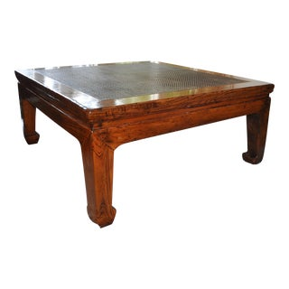 19th Century Asian Opium Bed/Table For Sale