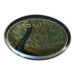 John Derian Peacock Paperweight For Sale
