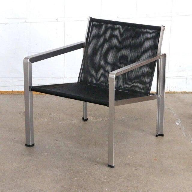 Giuseppe Raimondi Design Modern Aluminum Cube Chairs For Sale - Image 4 of 13