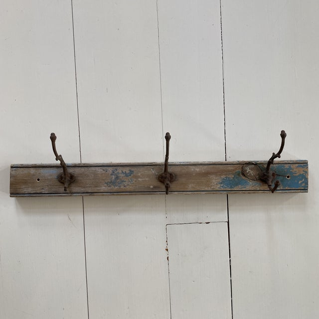 Antique Rustic French Wall Hooks For Sale - Image 9 of 9