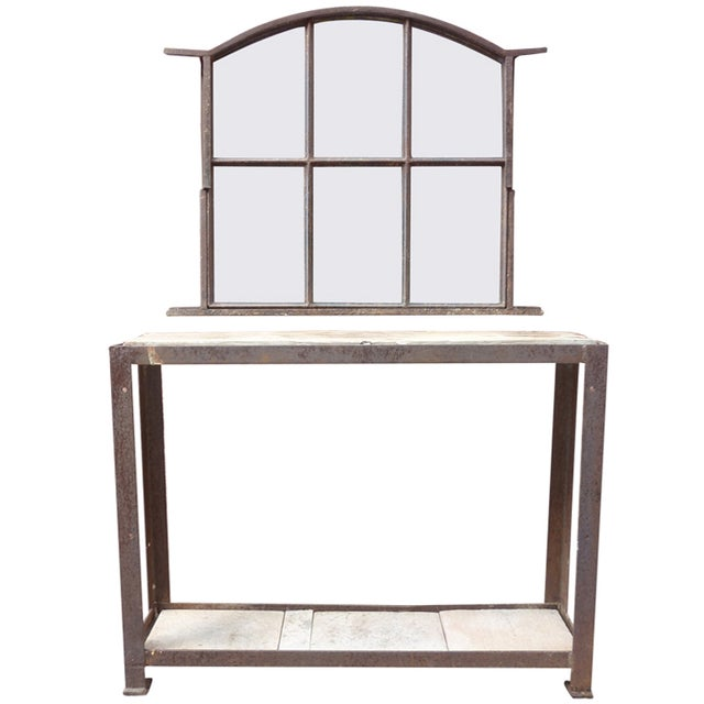 French Antique Entryway Set - Image 1 of 6