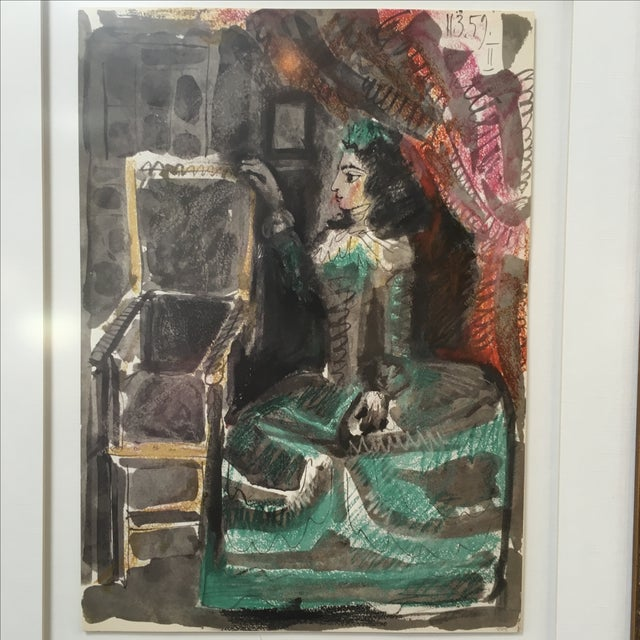 Picasso Untitled #2 Unsigned Print - Image 3 of 4