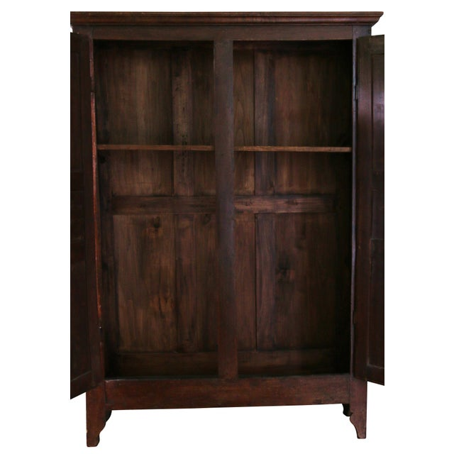 Louis XIII Original Louis XIII-Style Cabinet, France, 19th Century For Sale - Image 3 of 8
