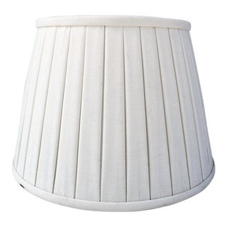 Custom Belgian Lined Pleated Lamp Shade For Sale