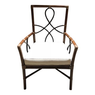 Selamat Designs Cinnamon Espresso Accents Elise Arm Chair