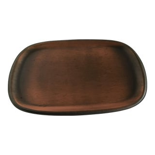 Copper Metal Decor Tray