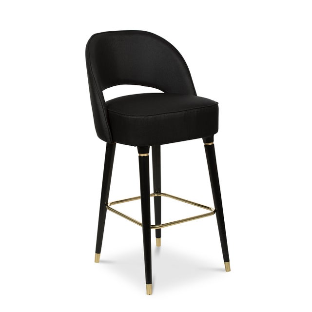 Not Yet Made - Made To Order Covet Paris Collins Bar Chair For Sale - Image 5 of 6