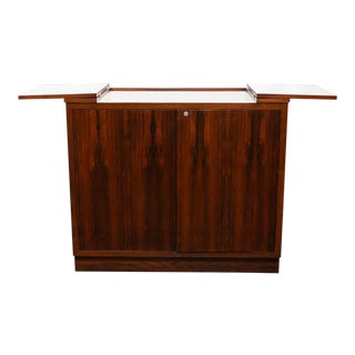 Danish Modern Rosewood Dry Bar For Sale