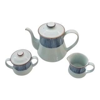 1970s Ff Japan Fitz and Floyd Porcelain Tea - Set of 3 For Sale