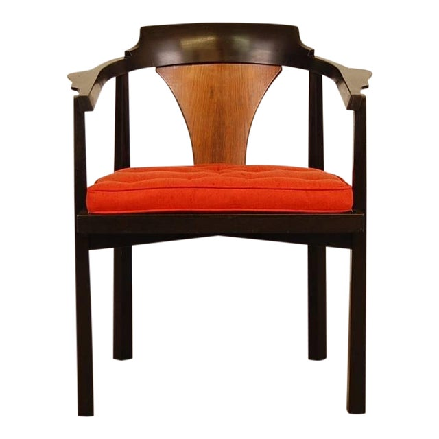 Dunbar Horseshoe Chair Designed by Edward Wormley For Sale
