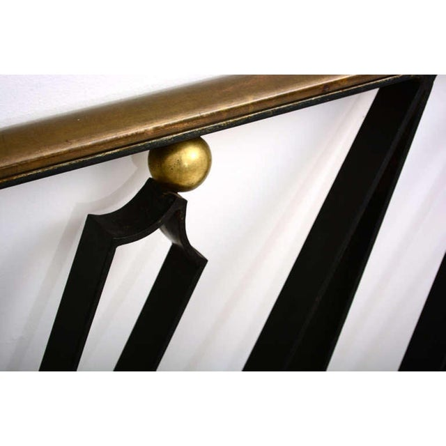 Midcentury Mexican Modernist Talleres Chacon Handrail, Arturo Pani For Sale In San Diego - Image 6 of 9