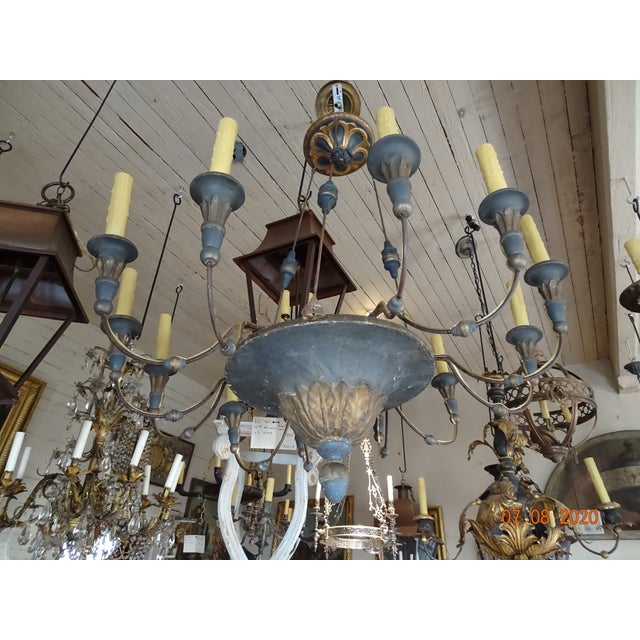 19th Century Italian Chandelier For Sale - Image 12 of 13