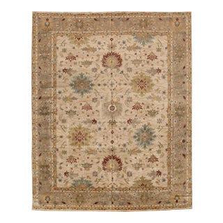 21st Century Modern Persian Style Mahal Rug 12 X 15 For Sale