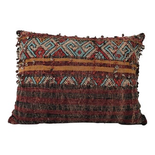 Vintage Tribal Sequined Pillow