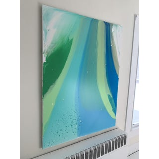 """""""Nature"""", Modern Acrylic Glaze on Canvas Painting Preview"""