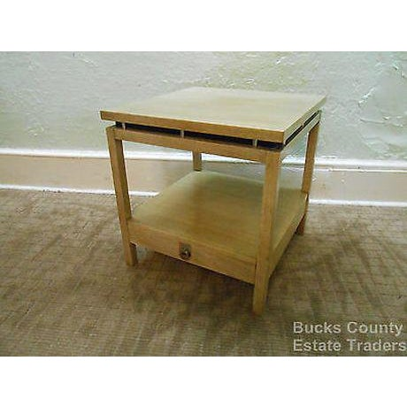 American of Martinsville Cathay Casuals Mid Century End Table (James Mont Era) For Sale - Image 13 of 13