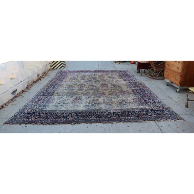 Large Persian Rug - 9′9″ × 14′4″ - Image 3 of 11