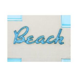 Retro Beach Neon Sign Photograph For Sale