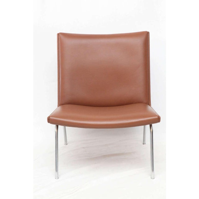 Contemporary Hans Wegner AP 39 Lounge Chairs For Sale - Image 3 of 10