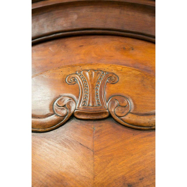 Cherry Wood Louis XV Period Rennaise Cherrywood Armoire For Sale - Image 7 of 10