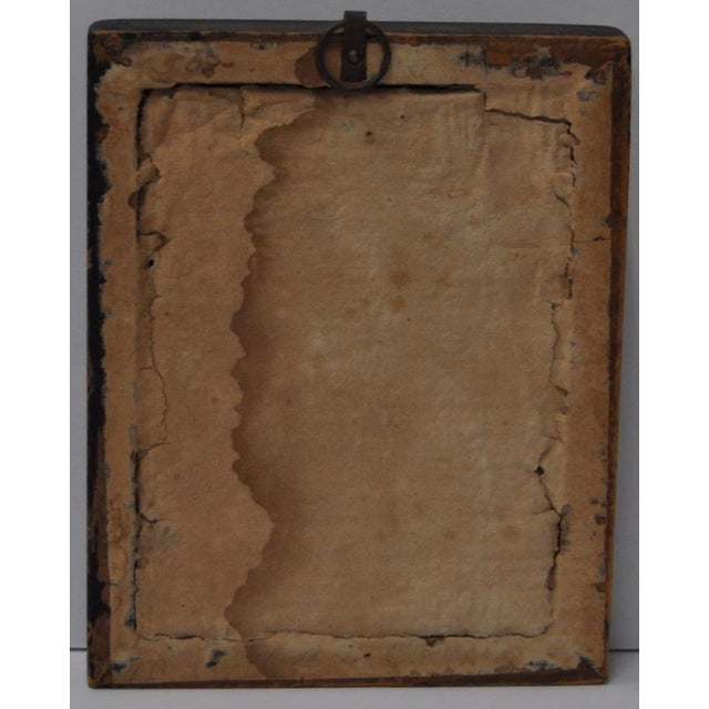 18th C. Gentleman's Silhouette Portrait For Sale - Image 5 of 5