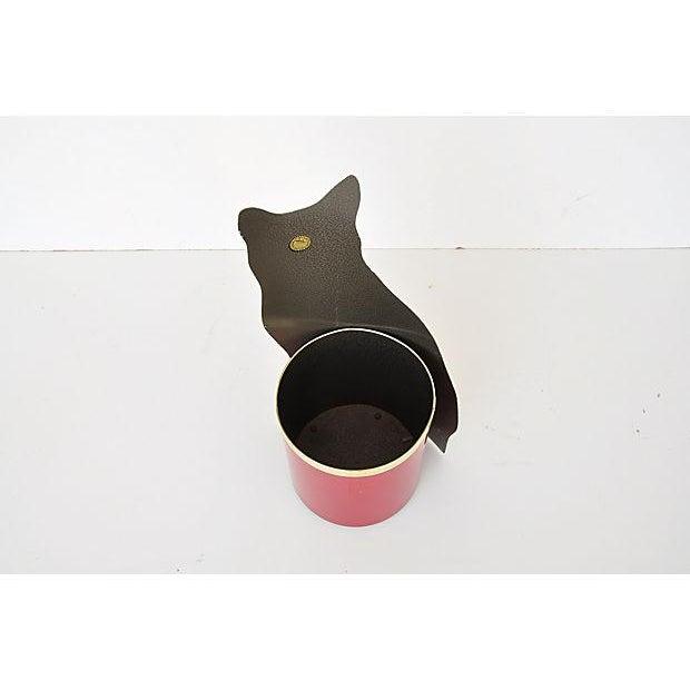 Piero Fornasetti Painted Lightograph Cat Waste Bin - Image 6 of 6