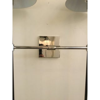 Arteriors Modern Polished Nickel and Bronze Finished Havana Sconces - A Pair Preview
