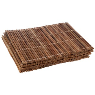 Large Bamboo Place Mats - Set of 6 For Sale