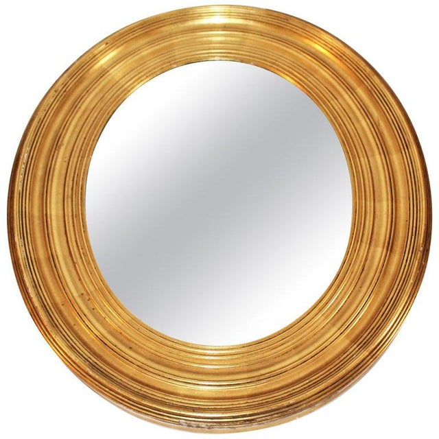 Metal 19th Century Giltwood Wall Mirror For Sale - Image 7 of 7