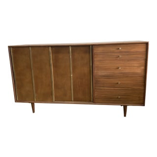 Harvey Probber Credenza With Leather For Sale