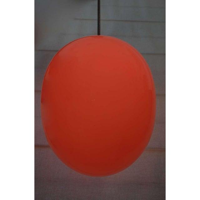 Mid-Century Modern Modern Egg Pendant Light For Sale - Image 3 of 5