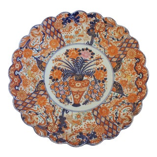 Meiji Period Imari Charger For Sale