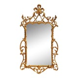 Image of Gold Louis Style French Ornate Mirror For Sale