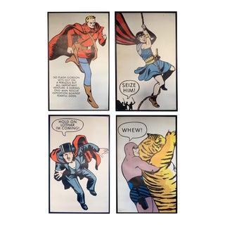 Vintage Lee Falk Comic Posters - Set of 4 For Sale